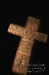 cross with scripture on it